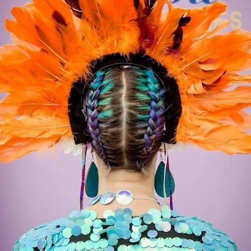Festival Hairstyles for Short Hair