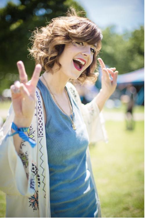 Festival Hairstyles for Mid-Length Hair