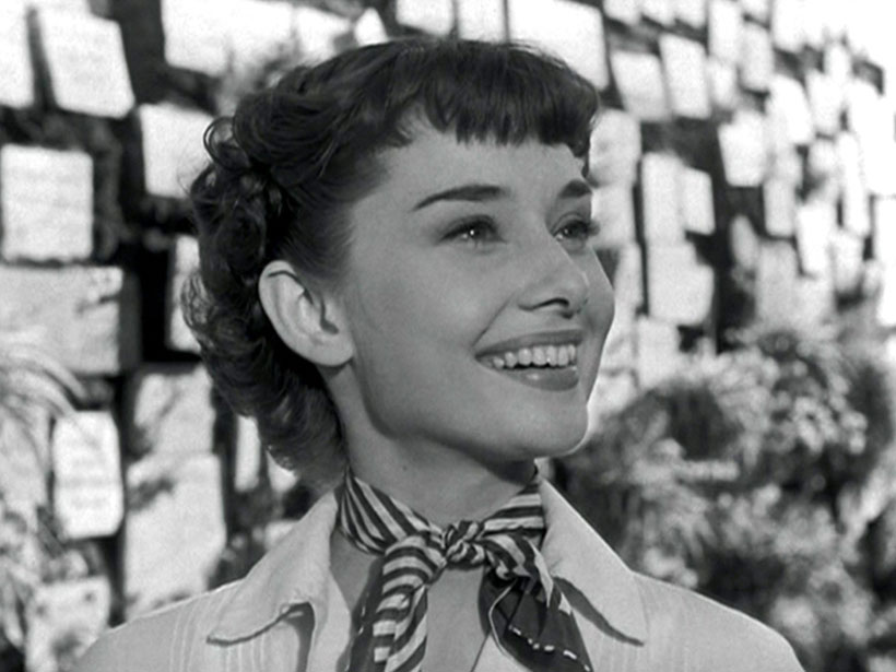 Retro Holiday Hairstyles - Audrey Hepburn