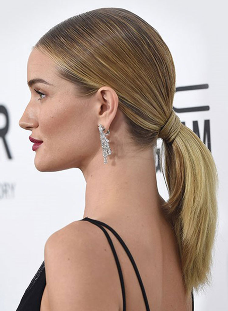 Wedding Hairstyles - Rosie Huntington Whiteley