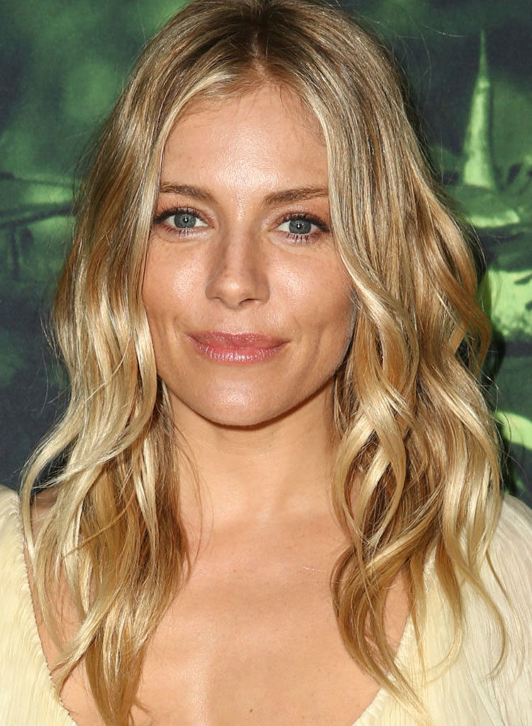 Wedding hairstyles - Sienna Miller