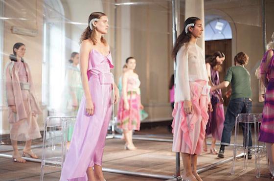 London Fashion Week Hair Models