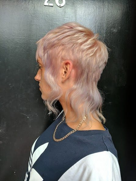 hair resolutions for 2018 - blonde/pink hairstyle