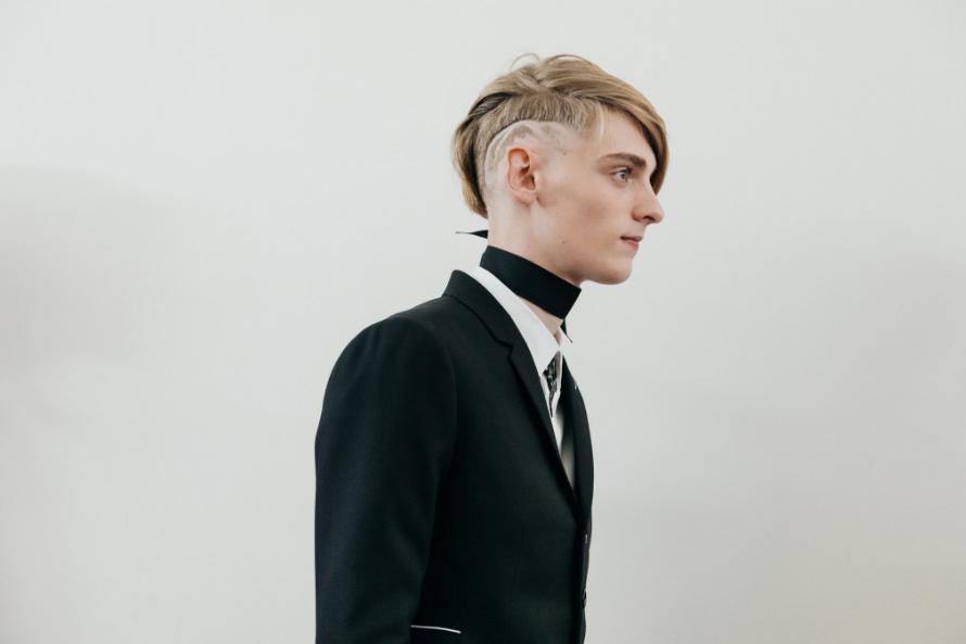 Men's hairstyles 2018 - Paris menswear fashion week