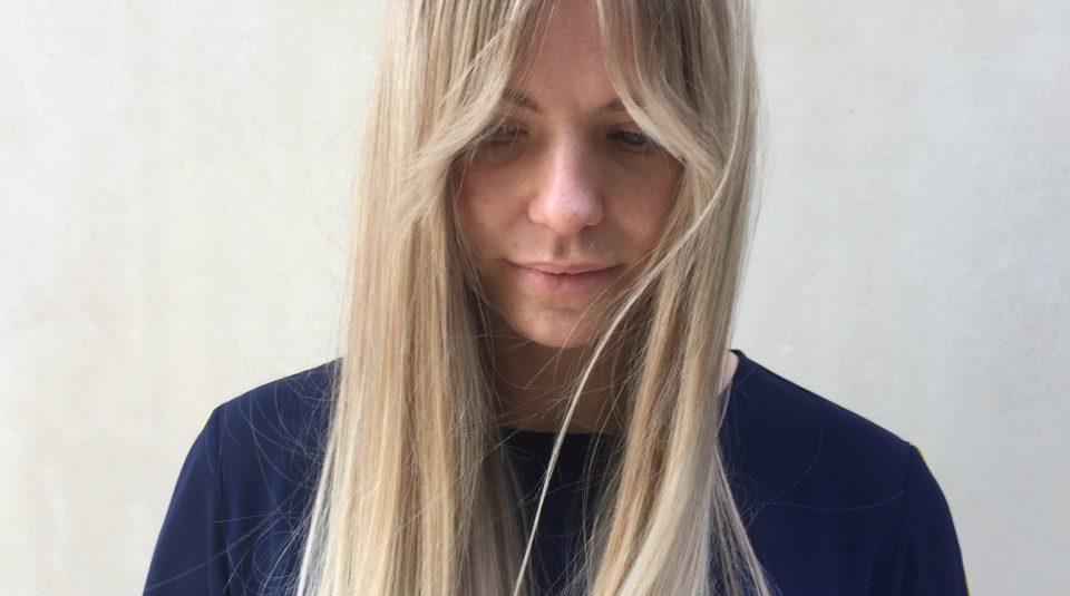 Olaplex hair treatment blonde long