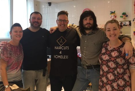 Mental Health Awareness Day Haircuts 4 Homeless